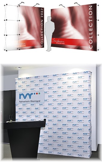 "Messewand ""Tom-E-Wall"""